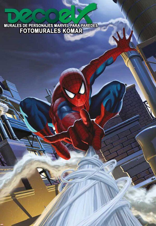 1-424 Tejado de hombre araña