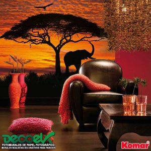 4-501 Interior Atardecer Africano