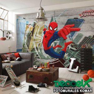 8-467 Spider-Man Concrete Interior