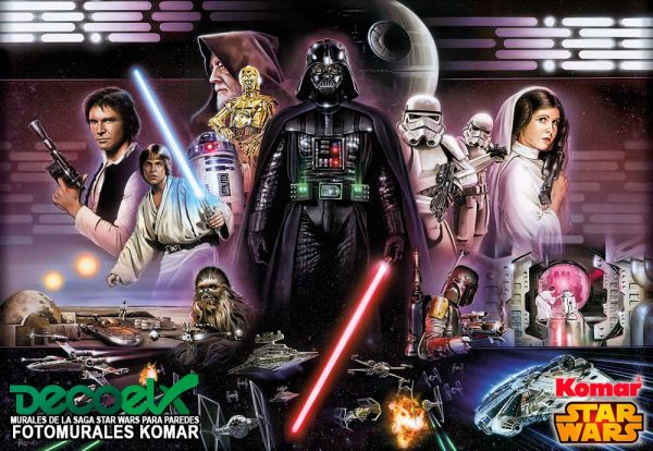 8-482 Collage Vader Star Wars