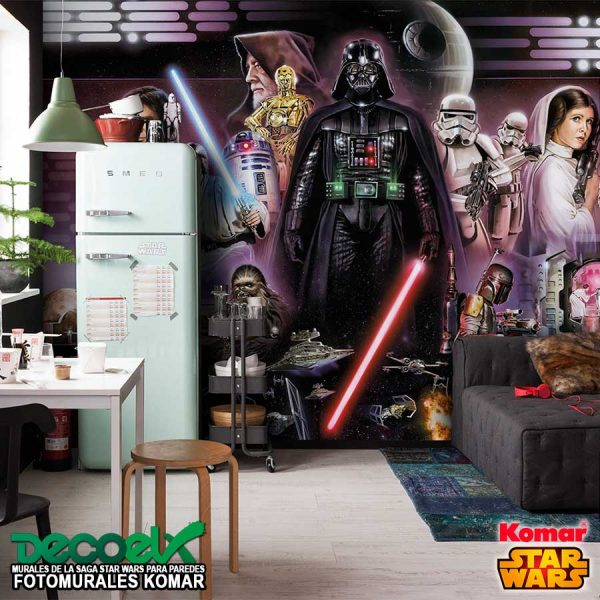 8-482 Interior Collage Vader Star Wars