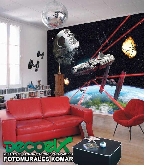 8-489 Interior Halcón Milenario Star Wars