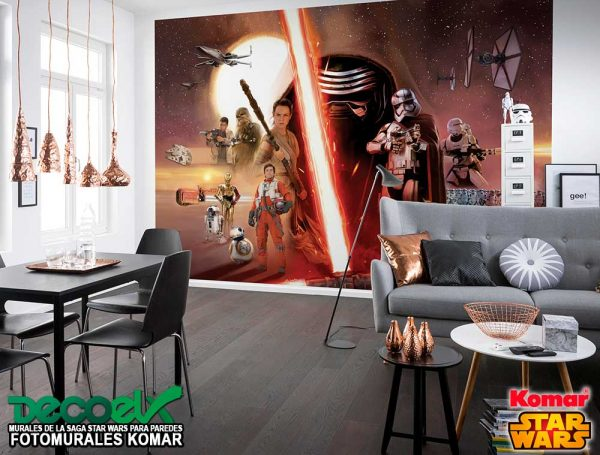 8-492 Interior Star Wars EP7 Collage