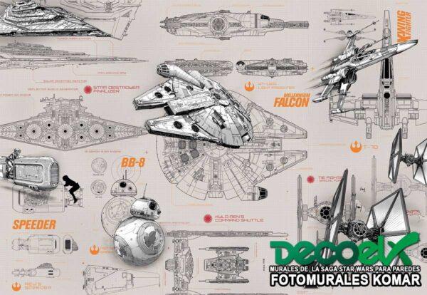 8-493 Star Wars Diseños