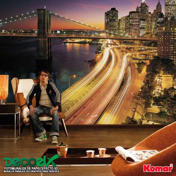 8-516 Interior Nueva York Ciudad de Luces
