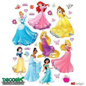 Sticker Infantil Princesas Disney DK-1722