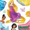 Zoom Sticker Infantil Princesas Disney DK-1722