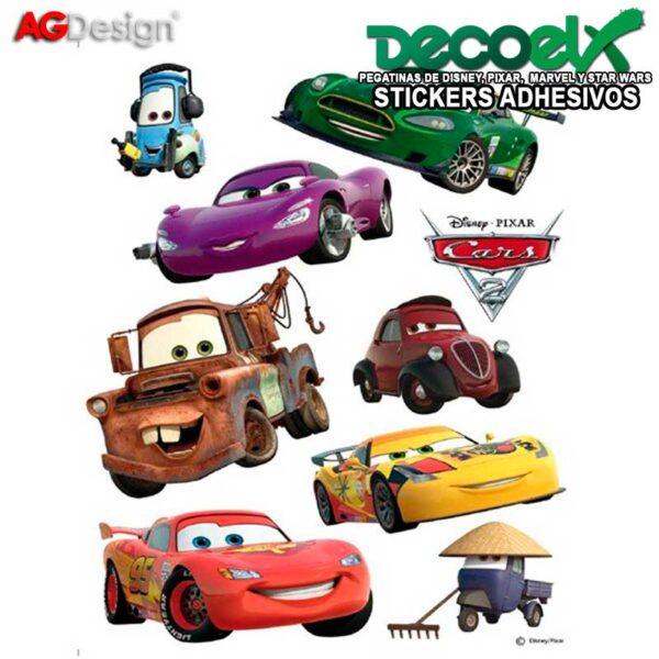 Stickers Infantiles Disney McQueen y Mater DK-887