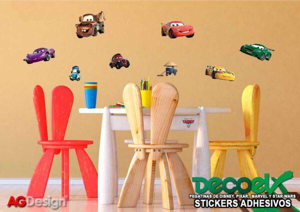 Stickers Infantiles Disney McQueen y Mater DK-887 Interior