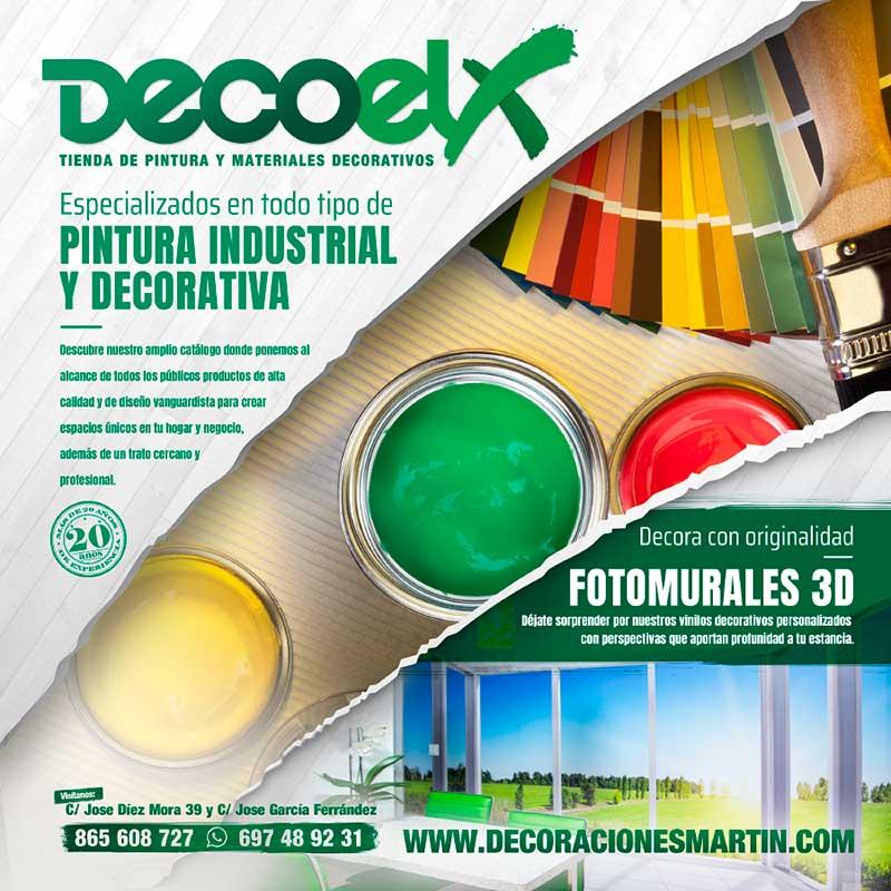 Decoelx. Pintura Industrial y Decorativa. Fotomurales 3D
