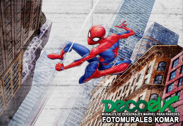 8-4029 nuevo spider-man en la ciudad