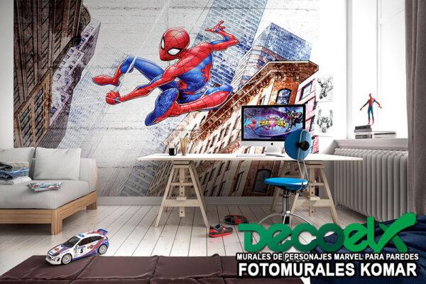 8-4029 nuevo spider-man en la ciudad interior