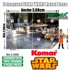 8-4000 Detalles Base Rebelde Star Wars