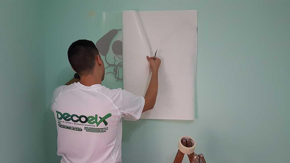 Colocación Vinilo Decoelx Foto 11