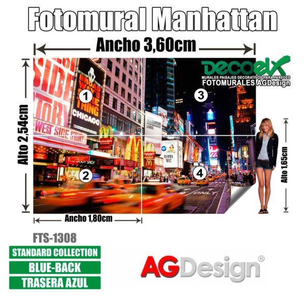FTS 1308 Detalles Manhattan