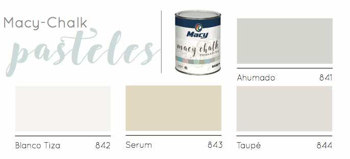 Macy-Chalk Colores Pastel