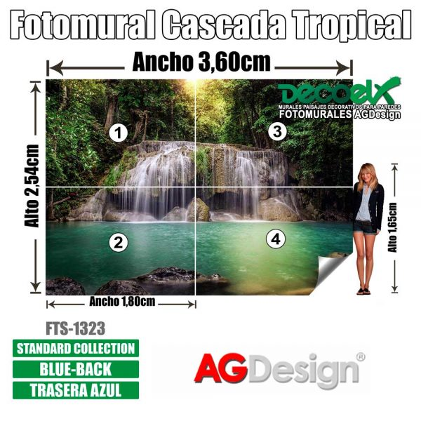 FTS 1323 Detalles Cascada Tropical