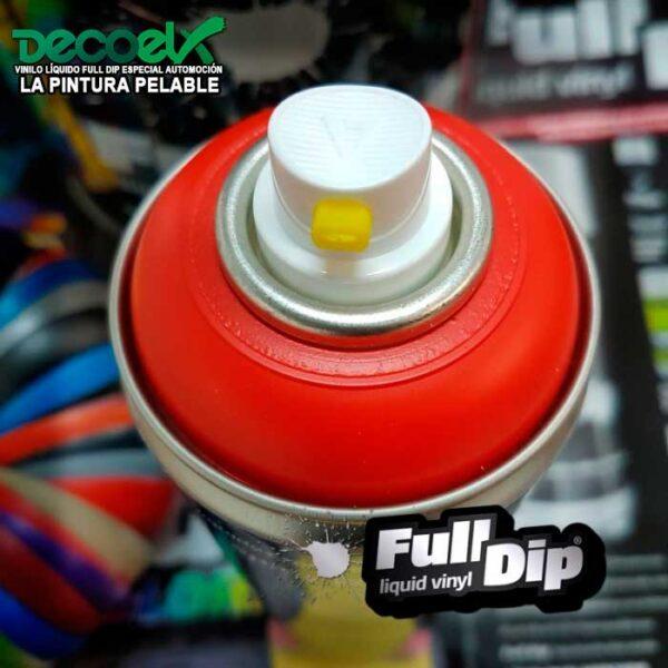 Full Dip Rojo Mate 400ml Decoelx