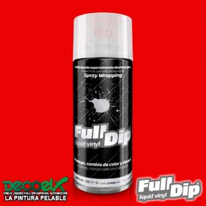 Full Dip Rojo Mate 400ml(2) Decoelx