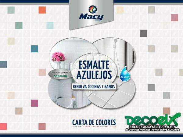 Carta Esmalte Azulejos Agua Macy 01