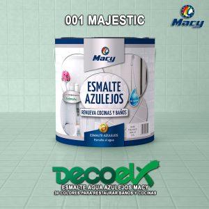 Envase Esmalte Azulejos Agua Macy 001 Majestic