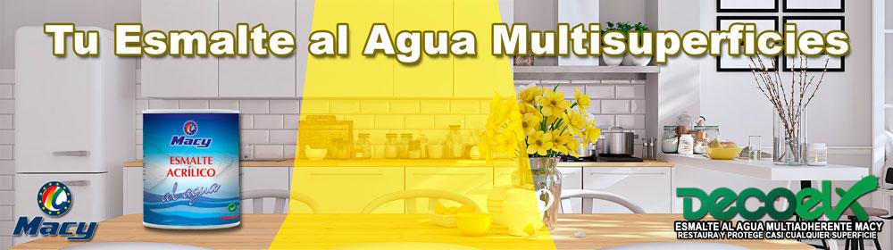 Banner Esmalte al Agua Multiadherente MACY 750ml