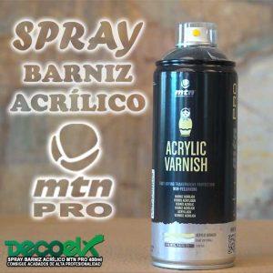 Barniz Acrílico Spray 400ml