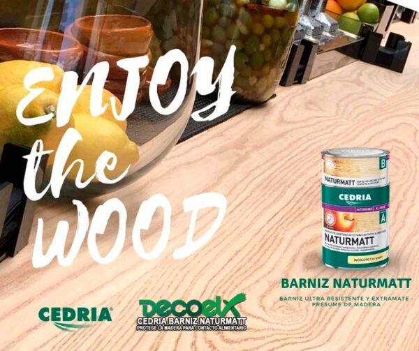 El mejor barniz para madera mate cedria Naturmatt