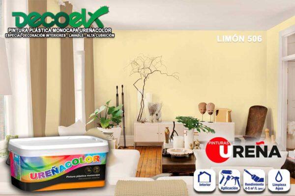 Color Pintura Habitación Limón 506 UREÑACOLOR