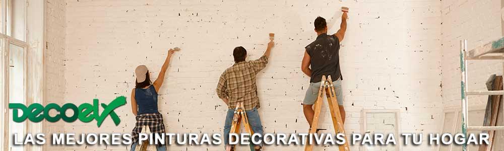 En Decoelx las mejores pinturas decorativas para tu casa