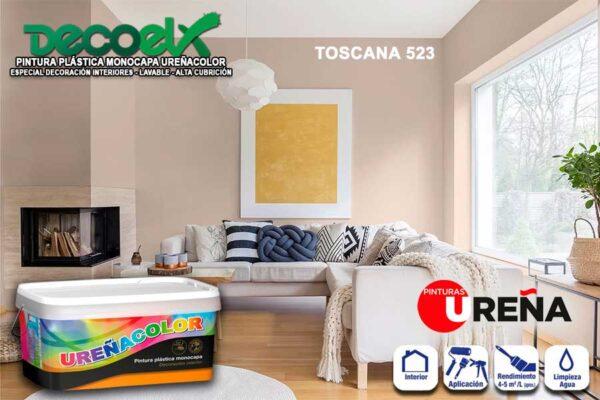 Pantone Colores Pintura Paredes Toscana 523 UREÑACOLOR