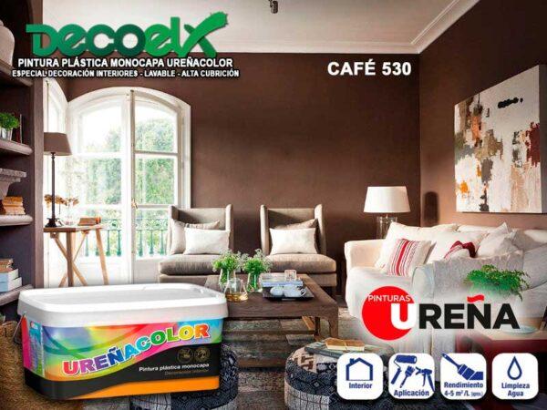 Paredes Pintadas Colores Café 530 UREÑACOLOR Pintura Plástica