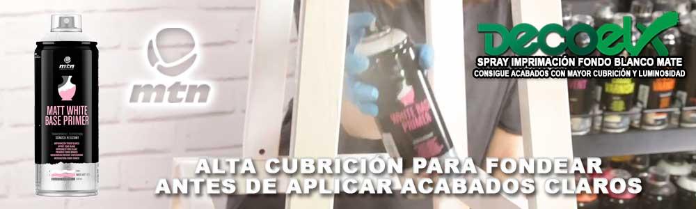 Spray Imprimación Fondo Blanco Alta Cubrición